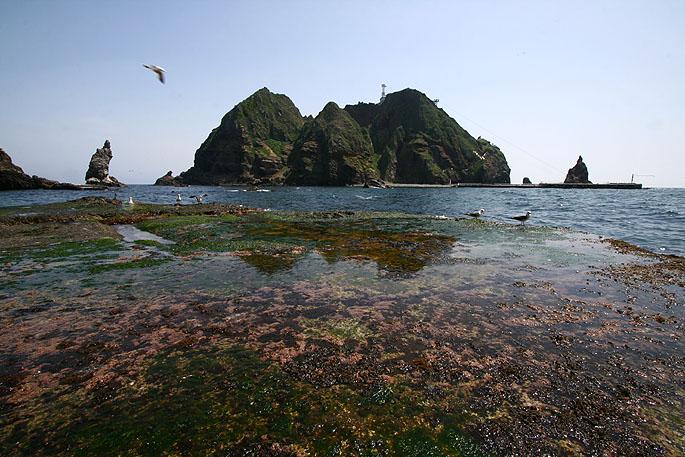 우리나라 최동단에 자리 잡은 작은 섬, 독도의 전경. 한국해양과학기술진흥원 제공