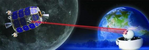 달에서 레이저로 지구에 동영상 보낸다