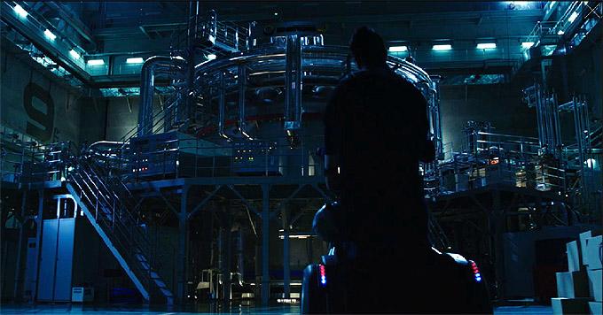 영화 '열한시'의 한 장면. KSTAR의 모습이 보인다. - 국가핵융합연구소 제공