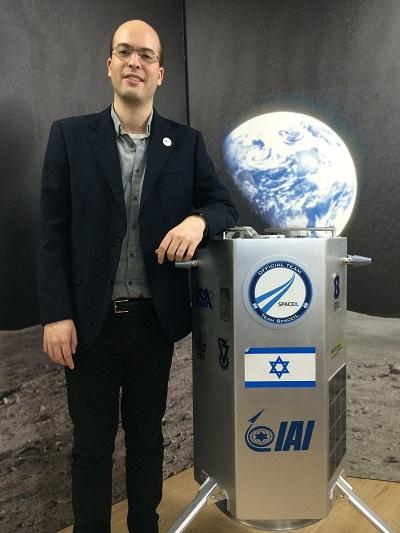 이스라엘의 비영리 달착륙 프로젝트인 '스페이스아이엘(SpaceIL)'은 원래 민간 엔지니어 세 명이 개인적으로 '구글 루나 X 프라이즈'에 참가하기 위해 시작했지만, 정부·기업·대학 등이 후원자로 나서면서 국가적 프로젝트로 성장했다. - 전준범 기자 제공