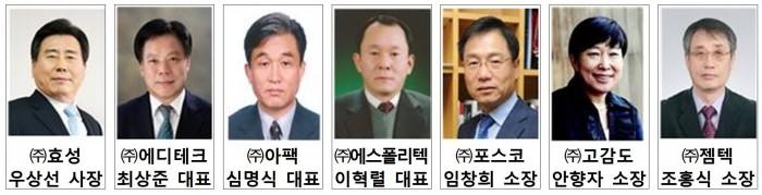 산기협, 2014년도 기술경영인상 수상자 선정 - (주)동아사이언스 제공