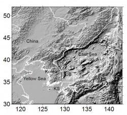 울릉분지는 우리나라 동해와 남해 바다를 아우르는 해저지형을 가리킨다. - 정석근 교수 제공