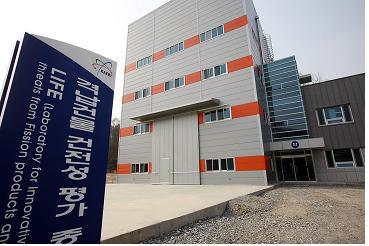 격납건물 건전성 평가 종합 실험동의 모습. - 한국원자력연구원 제공