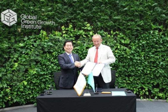 녹색기술센터, 글로벌녹색성장기구와 협력 MOU 체결