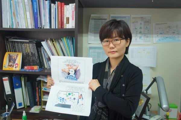 권남훈 서울대 의약바이오컨버전스연구단 교수는 만화를 통해 어려운 과학 연구를 대중에게 쉽게 전달하고 있다.
