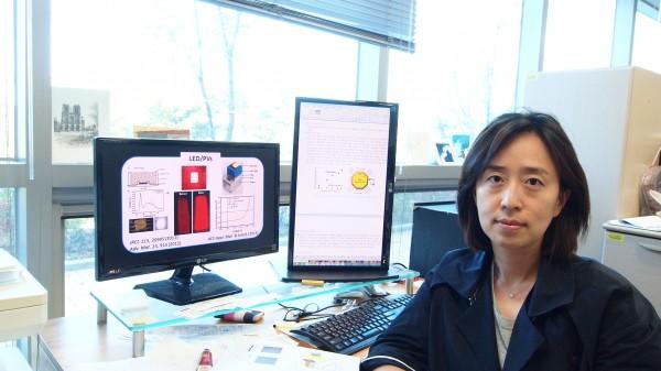 정소희 한국기계연구원 책임연구원은 특유의 화합 능력으로 융합 연구의 구심점 역할을 한다.