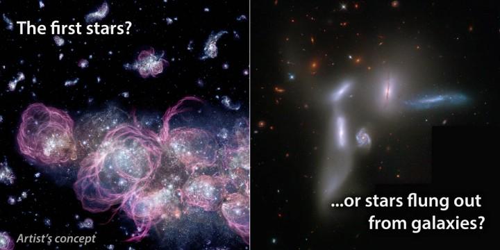연구진은 초기 우주에서 별이 생성되고 난 뒤 나온 우주배경복사를 관측하는 데 성공했다. - NASA 제공