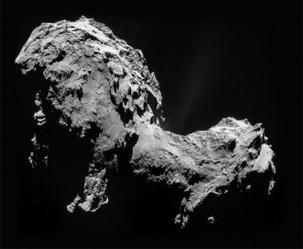 인류, 혜성 착륙 첫 성공