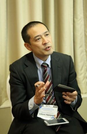 하세가와 아리후미 후쿠시마의대 교수. - 한국원자력의료원 제공