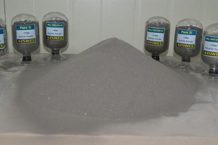 고려용접봉에서 생산한 티타늄 합금 분말. - 고려용접봉 제공
