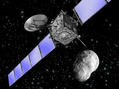 혜성에 탐사로봇 '필래'를 착륙시킨 탐사선 '로제타'가 사이언스가 선정한 올해의 10대 연구 성과 중 1위를 차지했다. - 유럽우주국(ESA) 제공