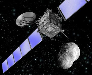 혜성 탐사선 '로제타' 올해의 연구 성과 1위