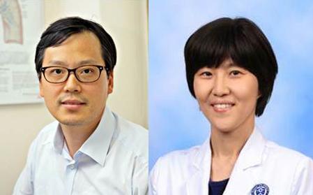 조병철(왼쪽) 김혜련 교수