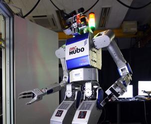 한국 로봇 '휴보' 더 커지고 더 힘세졌다