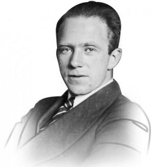 베르너 카를하이젠베르크 사진. 1932년에 노벨 물리학상, 1933년에 막스플랑크메달을 수상했다. - 위키미디어 제공