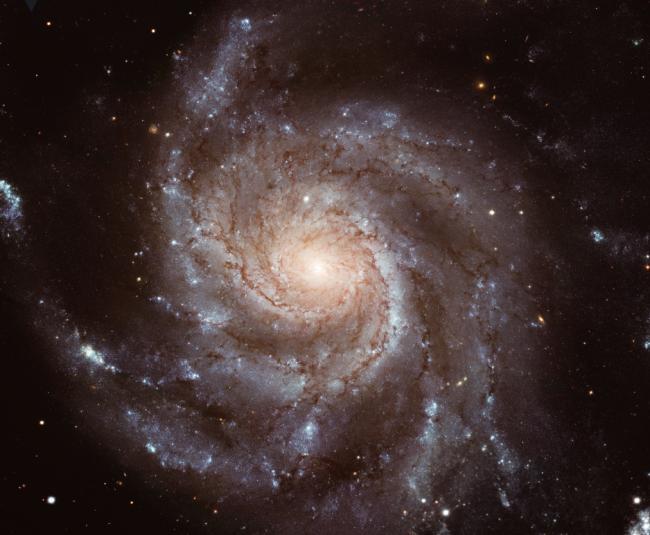 나선 은하 M101. - NASA 제공