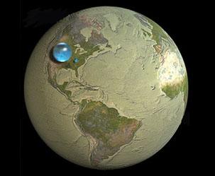 지구의 그 많은 물은 다 어디서 왔을까