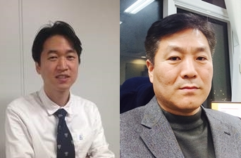 최무림 서울대 의대 교수(왼쪽)와 이종영 테라젠 바이오이텍스 연구위원(오른쪽)