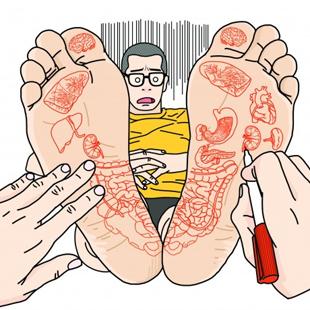 발바닥이 인체의 축소판이라고?