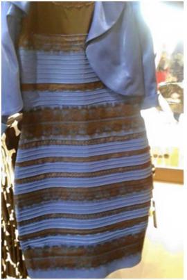 논쟁을 불러 일으켰던 드레스 사진