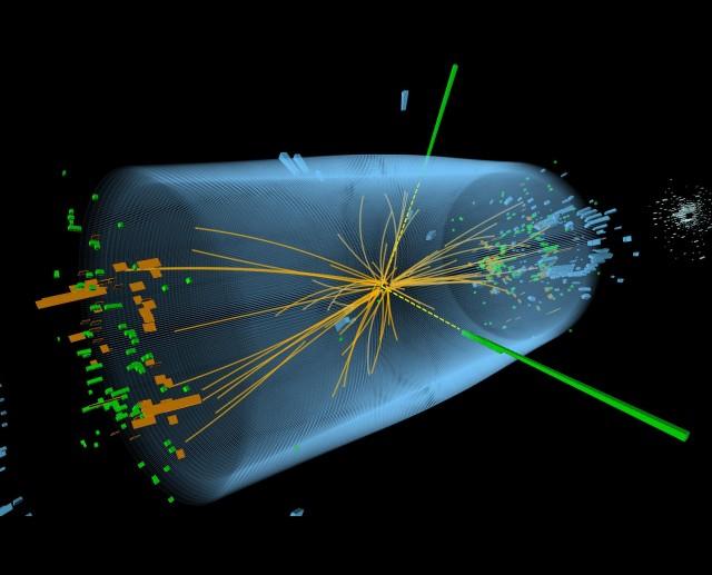 과학자들은 LHC를 통해 '신의 입자'라는 별명을 가진 힉스 입자를 발견했다. - CERN 제공