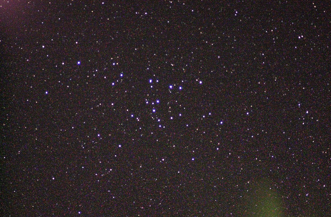 코마 성단(coma cluster)의 모습 - wikimedia 제공