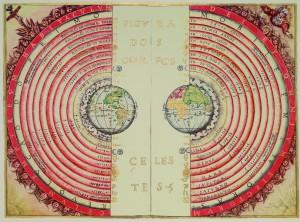 아리스토텔레스 물리학에서 온 우주는 지구를 중심으로 '완벽한' 원운동을 한다. - 위키미디어 제공