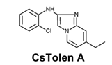 CsTolen A의 구조 - RIKEN 제공