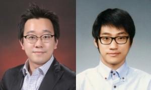 김동성 포스텍 기계공학과 교수(왼쪽)와 박상민 연구원. - 포스텍 제공