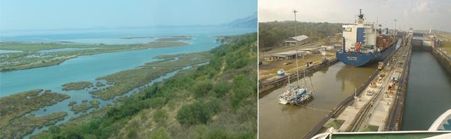 [좌] 자연적으로 생긴 수로(canali) [우] 인간이 만든 운하(canal) - 위키미디어, flickr.com 제공