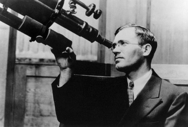 명왕성 발견의 공로를 세운 클라이드 톰보(Clyde Tombaugh) - lib.nmsu.edu 제공