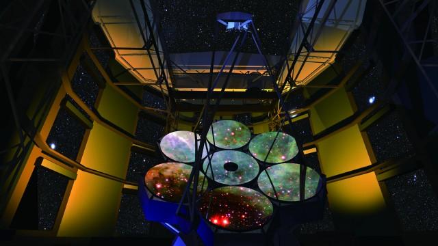 GMT가 모을 수 있는 빛의 양은 지금 가동 중인 '켁 망원경'의 6배에 달한다. - ⒸGMT 제공