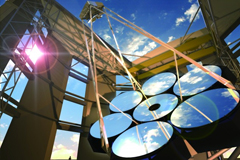 반사경이 반짝반짝! 표준연구원 우주광학센터