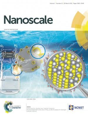 나노스케일 저널 28일자 표지 - Nanoscale 제공