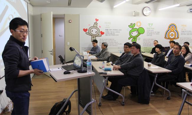 서울백북스 회원들이