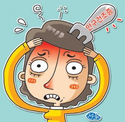 안구건조증 예방법, 물 많이 마시기+인공눈물 사용 '효과적'
