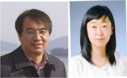 박석희 성균관대 생명과학과 교수(왼쪽)와 이연숙 연구교수의 모습.  - 한국연구재단 제공