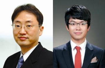 홍용택 서울대 전기정보공학부 교수(왼쪽)와 하제욱 연구원. - 서울대 제공