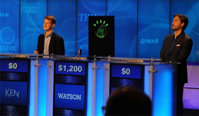 2011년 미국의 유명 TV 퀴즈쇼 '제퍼디'에서 우승한 전력을 보유한 왓슨. 최근 백혈병 진료에서 진화된 머신러닝 기술을 선보였다. - 동아일보DB 제공