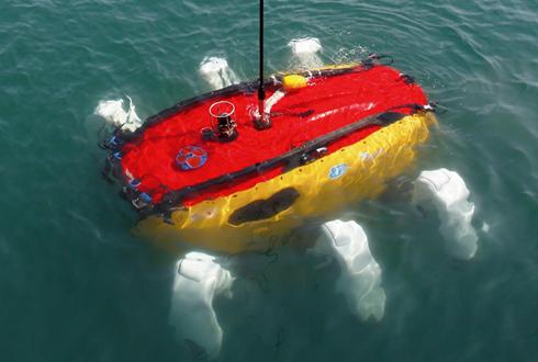 가재처럼 걷는 해저로봇 크랩스터