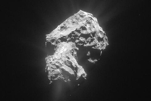 인류의 착륙 허락한 첫 혜성