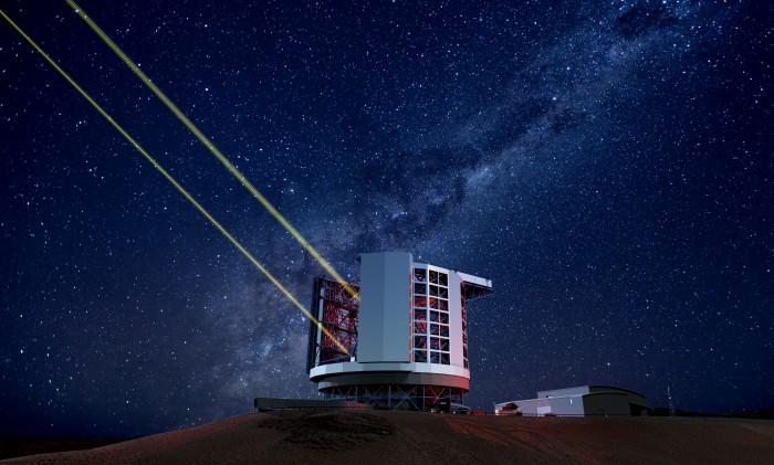 국내를 포함한 5개국 10개 국제연구기관이 공동으로 만드는 세계최대 광학망원경 GMT는 세계에서 가장 별이 잘 보인다는 칠레의 아타카마 사막에 설립될 예정이다. - 한국천문연구원 제공