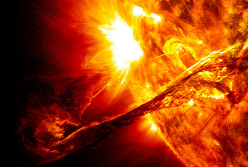 태양의 큰 구조
