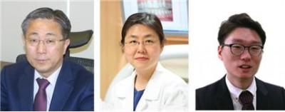 조동우 포스텍 교수와 이상화 가톨릭대 교수, 심진형 한국산업기술대 교수(왼쪽부터) - 연구성과실용화진흥원 제공