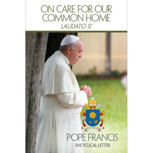 지난 6월 18일 발표된 프란치스코 교황의 회칙은 책으로도 나왔다. - 아마존 제공