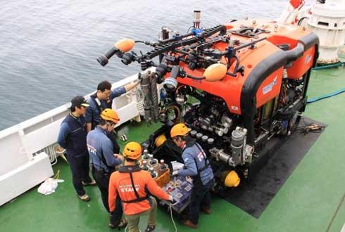 해저 6000m 누빌 韓 두 번째 심해 무인 로봇