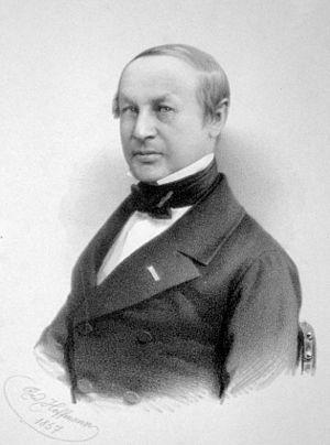 1837년 독일의 생리학자 테오도어 슈반은 효모가 발효를 일으킨다고 제안했지만 거센 반발에 부딪쳤다. 효모발효는 19세기 말에야 널리 인정됐다. 슈반의 모습.  - 위키피디아 제공