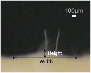 소름센서는 1㎠ 넓이에 10개 이상의 입모근이 감지되면 소름이 돋았다고 판단한다. - KAIST 제공