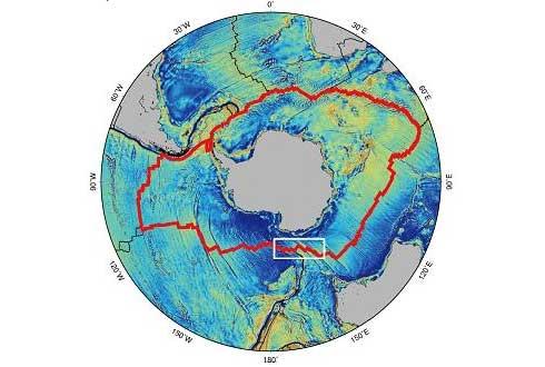 남극 해저 2km 중앙해령에서 열수 분출구 새로 발견