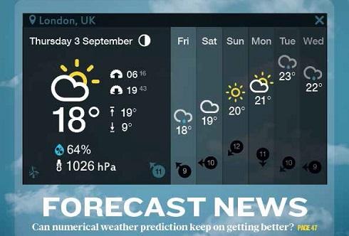 일기예보는 얼마나 더 정확해질까?